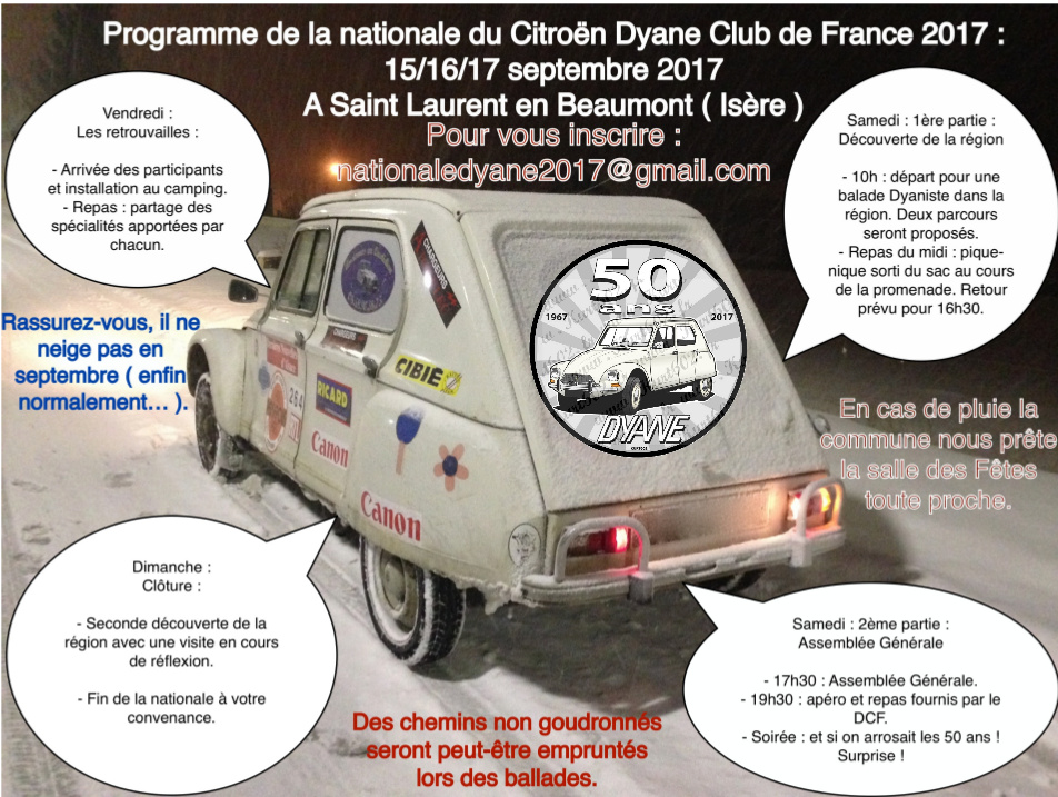 Programme Nationale DCF
